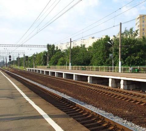 """Платформы на станции """"Бирюлёво-Товарная"""""""
