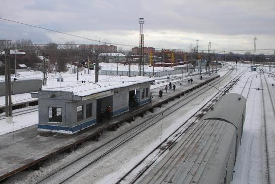 "Посадочная платформа на станции ""Щёлково"""