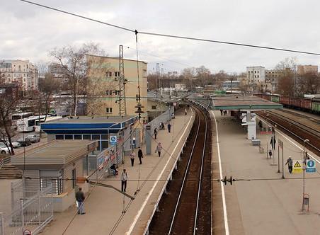 """Платформы на станции """"Тушино"""""""