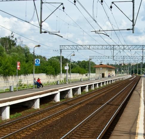 """Платформы на станции """"Кучино"""""""