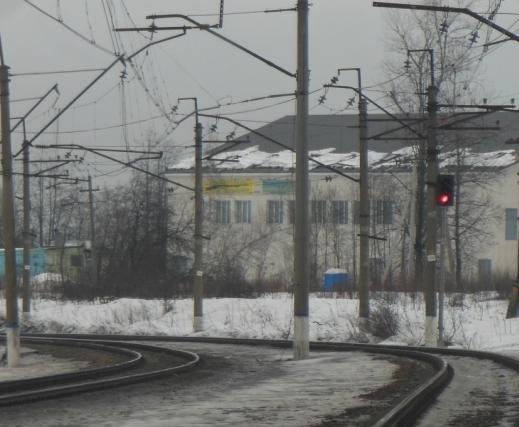 """Линии железной дороги около станции """"Устиновка"""""""