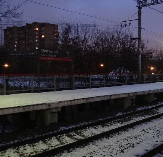 """Железнодорожная станция """"Окружная"""""""