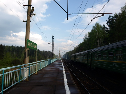 Железнодорожная станция Аникеевка