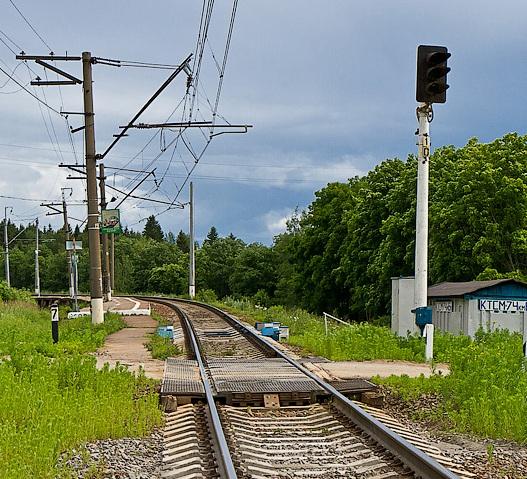 "Переезд через ж/д пути возле станции ""Иванцево"""