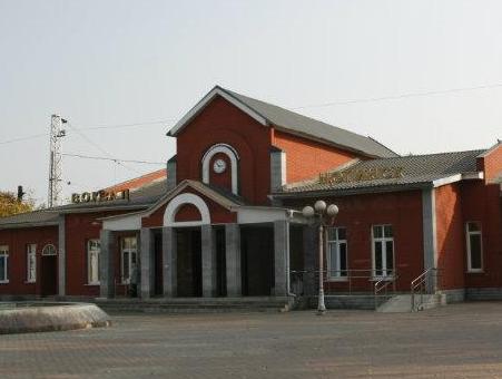 """Вокзал станции """"Ногинск"""""""