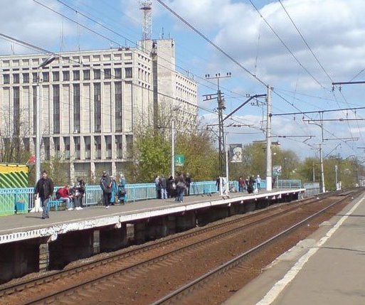"""Линии железной дороги на станции """"Дмитровская"""""""