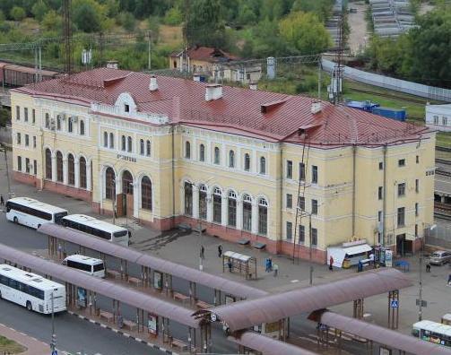 """Здание вокзала """"Серпухов"""""""