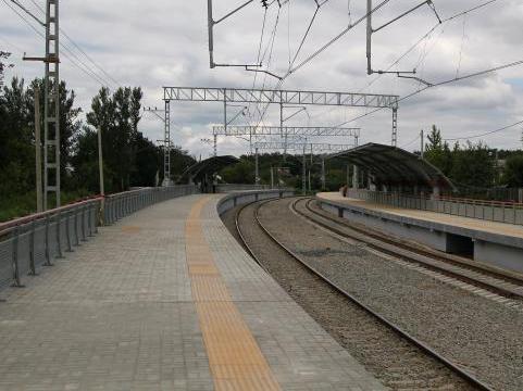"""Платформы на станции """"Ромашково"""""""