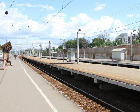 """Платформы на станции """"Химки"""""""