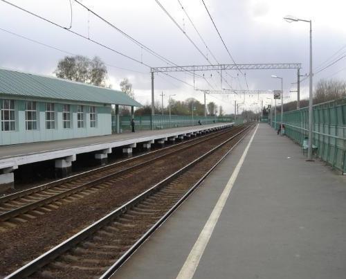 """Платформы на станции """"Отрадное"""""""