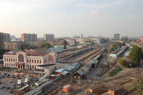 Территория возле Савёловского вокзала