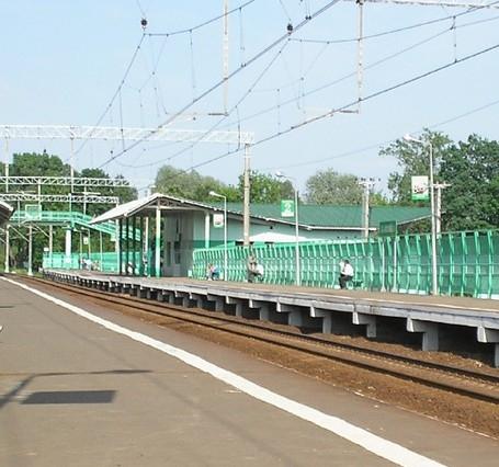"""Платформы станции """"Немчиновка"""""""