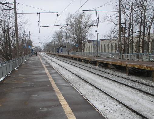 """Платформа на станции """"Гагаринская"""""""