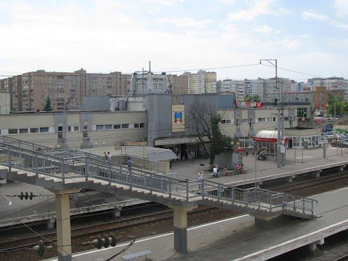 """Платформа на станции """"Железнодорожная"""""""