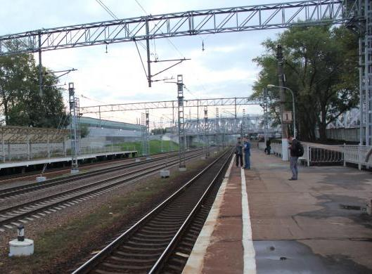 "Железнодорожная станция ""НАТИ"""