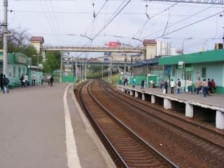 """Железнодорожная станция """"Беговая"""""""