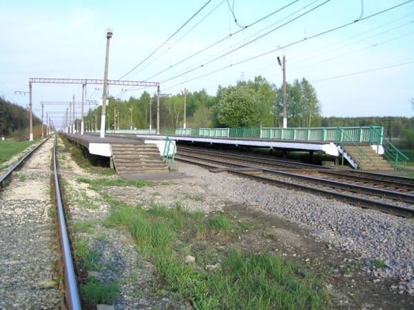 """Платформы на станции """"Ботино"""""""