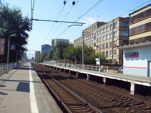 """Железнодорожная станция """"Красный Балтиец"""""""