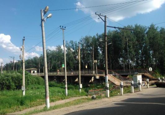Переезд возле станции Аникеевка