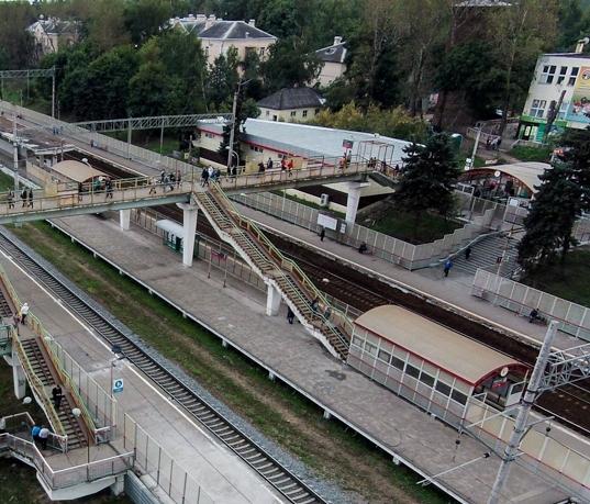 """Железнодорожная станция """"Расторгуево"""""""