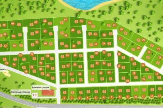 Инфраструктура поселков призвана обеспечить местным жителям городской комфорт.