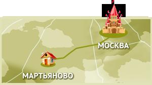 Коттеджный посёлок Мартьяново