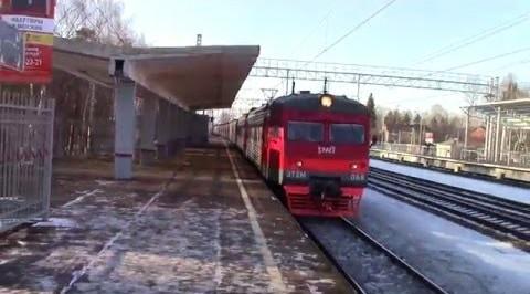 """Навес от дождя на станции """"Подрезково"""""""
