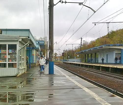 "Постройки на станции ""Подлипки-Дачные"""