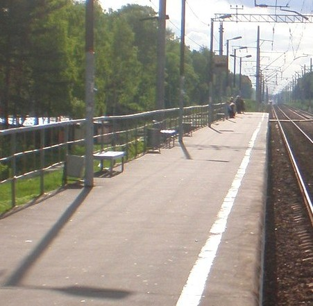"Платформа станции ""Заря"""