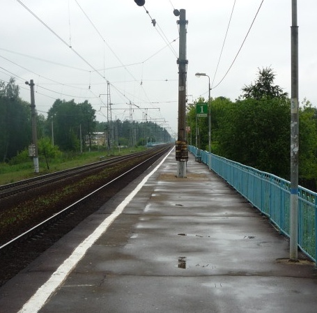 "Платформа на станции ""Опалиха"""