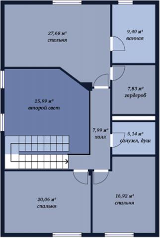 Селигер второй этаж