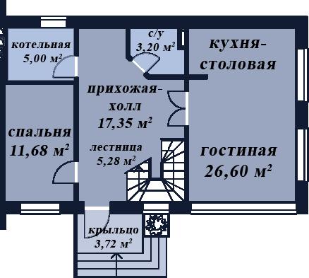 Онега первый этаж