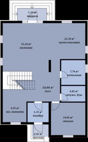 Ладога первый этаж