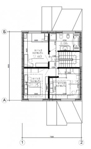Калуга серия 125 второй этаж