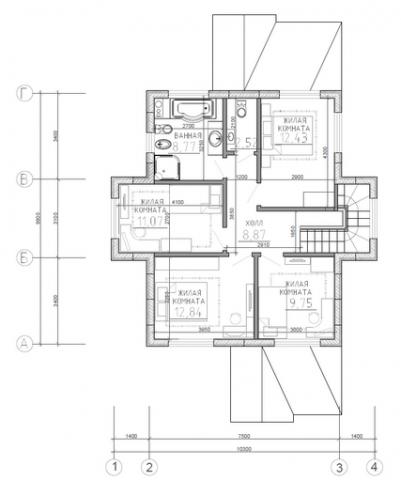 Калуга серия 164 второй этаж