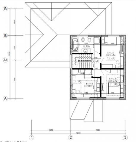 Калуга серия 125 + гараж второй этаж