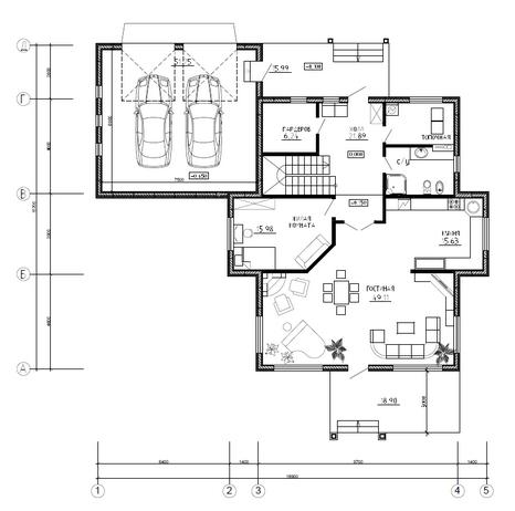 Калуга серия 238 + гараж первый этаж
