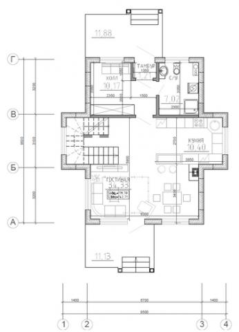 Калуга серия 144 первый этаж