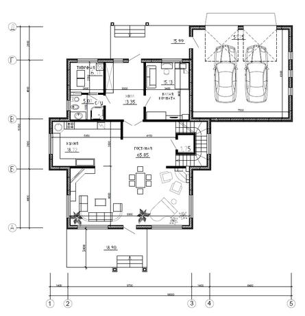 Калуга серия 241 + гараж первый этаж