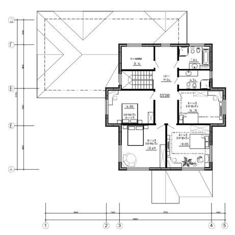 Калуга серия 238 + гараж второй этаж