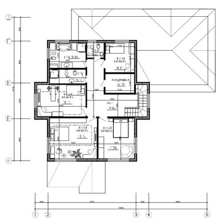 Калуга серия 241 + гараж второй этаж