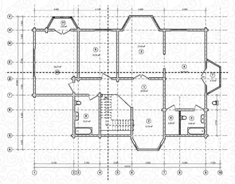 Вилла 350 Кантри второй этаж