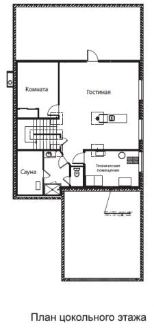 Ситар тип 3 bed. цокольный этаж