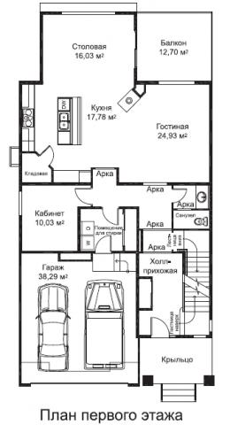 Дуглас тип C 4 первый этаж
