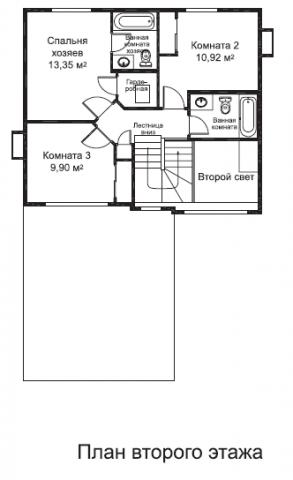 Бомонт тип A второй этаж