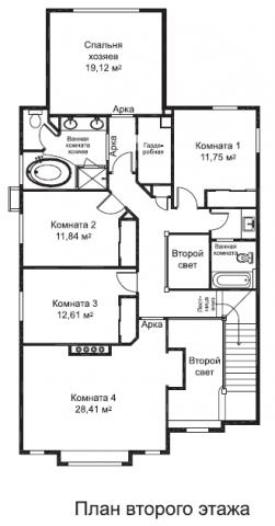 Дуглас тип C 4 второй этаж