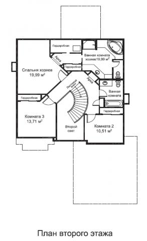 Эллис тип B второй этаж