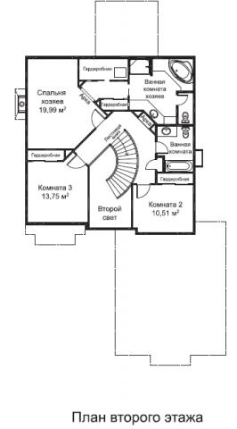 Эллис тип II-B второй этаж