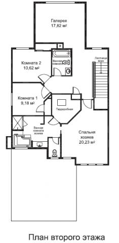 Марсалис тип D второй этаж