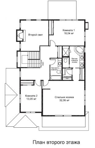 Ричмонд тип C второй этаж